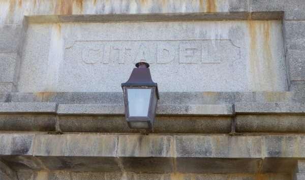 Citadel Entrance Sign