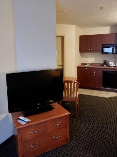 Days Inn & Suites Moncton King Suite Kitchenette