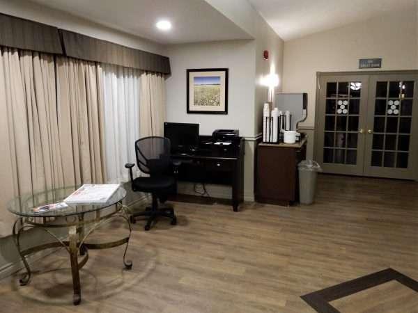 Days Inn & Suites Moncton Lobby