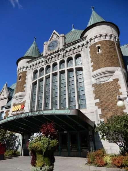 Gare Du Palais VIA Rail Station