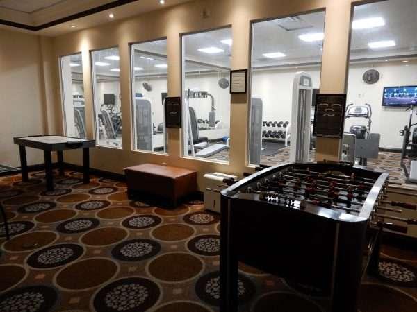 Holiday Inn Truro Games Room