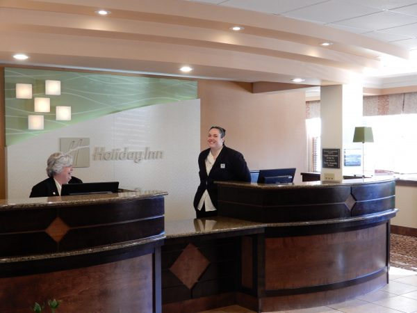 Holiday Inn Truro Reception