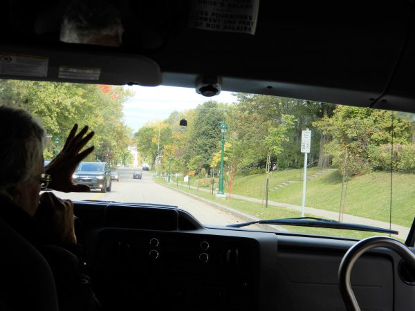 Les Tours Du Vieux Quebec Mini Bus Driver