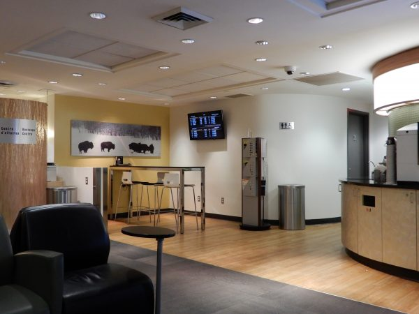 Montreal's Central Station Business Lounge Amenities