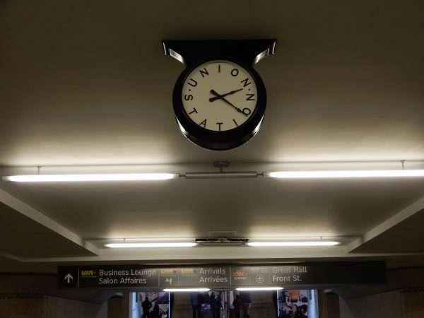 Union Station Toronto Clock