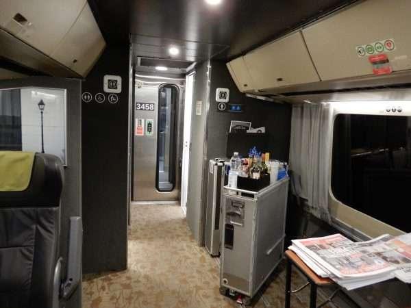 VIA Rail Business Class Car Amenities