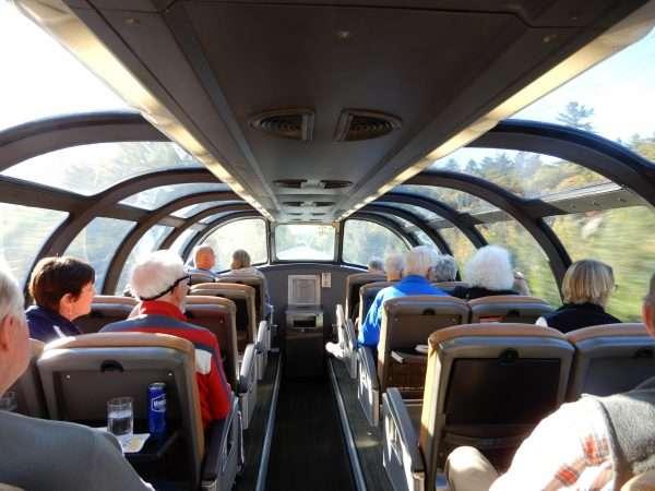 VIA Rail Canada Dome Car