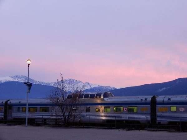 VIA Rail Canada Jasper Alberta