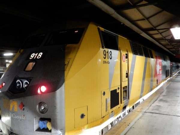 VIA Rail Canada Locomotive