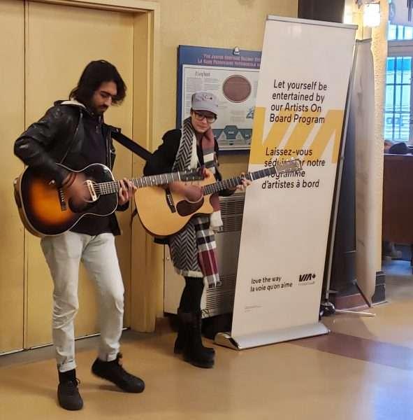 VIA Rail Canada Musicians