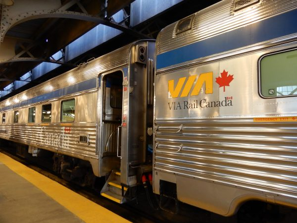 VIA Rail Canada Passenger Car