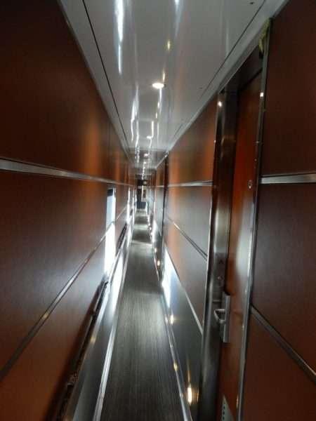 VIA Rail Prestige Class Cabin