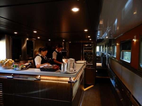 VIA Rail Prestige Class Lounge