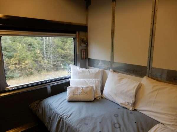 VIA Rail Sleeper Plus Bedding
