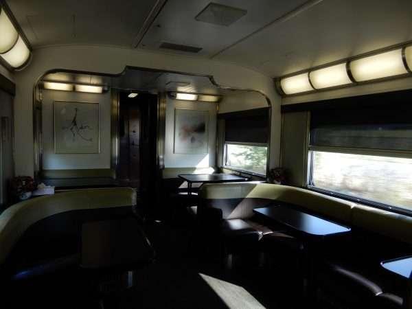 VIA Rail Sleeper Plus Lounge Car