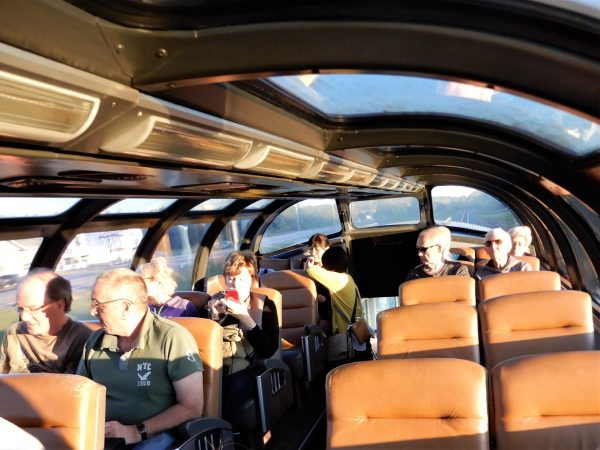 VIA Rail The Ocean Dome Viewing Car