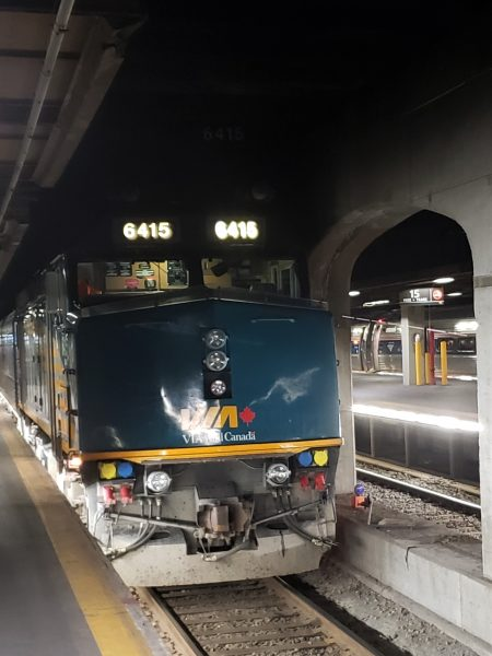 VIA Rail The Ocean Locomotive