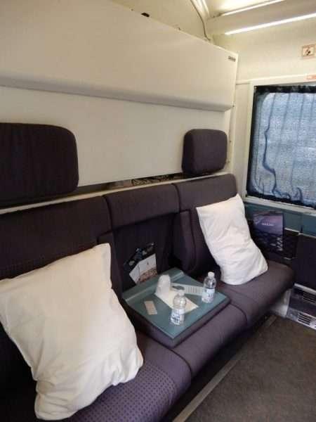 VIA Rail The Ocean Sleeper Plus Cabin