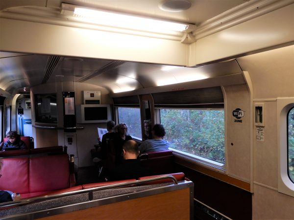 VIA Rail The Ocean Wifi Lounge Car
