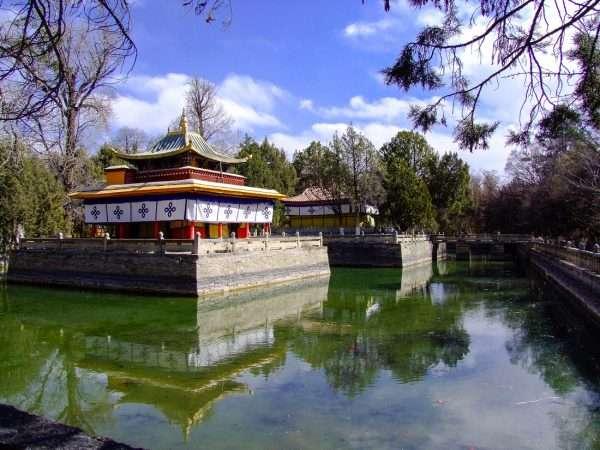 Shrine In Lhasa