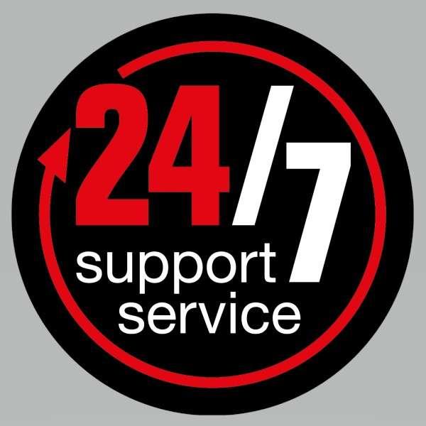 24 7 Support Logo