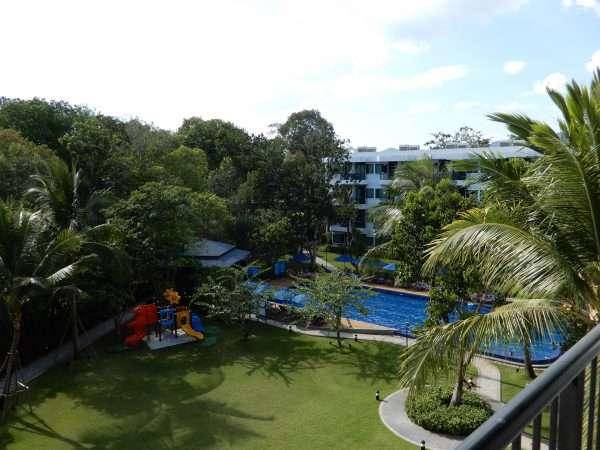 Holiday Inn Express Krabi Ao Nang beach garden pool area