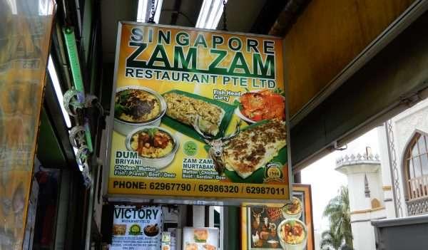Singapore Zam Zam Restaurant