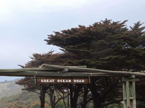 Great Ocean Road Sign Post