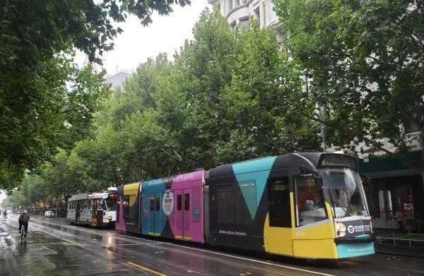 Street Cars In Melbourne Australia