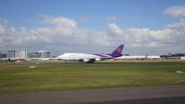 Thai Airlines 747