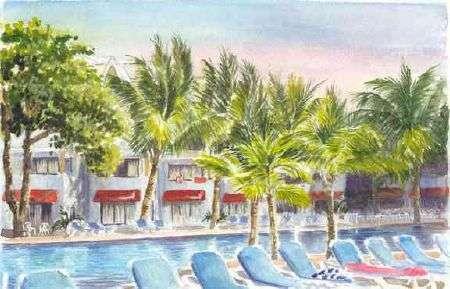 Casa Marina Beach Resort Water Color