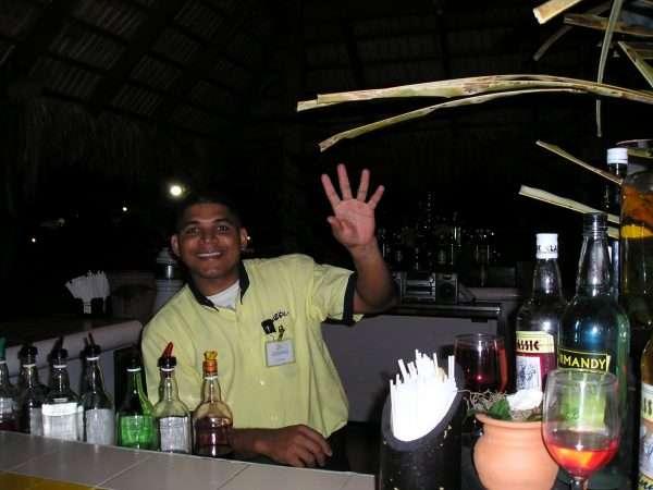 Dominican Republic Resort Bartender