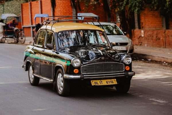 India Taxi Cab