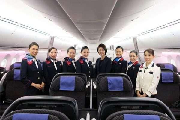 Japan Airlines Flight Crew