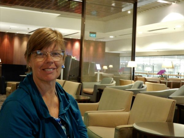 Singapore Airlines Changi Business Class Lounge