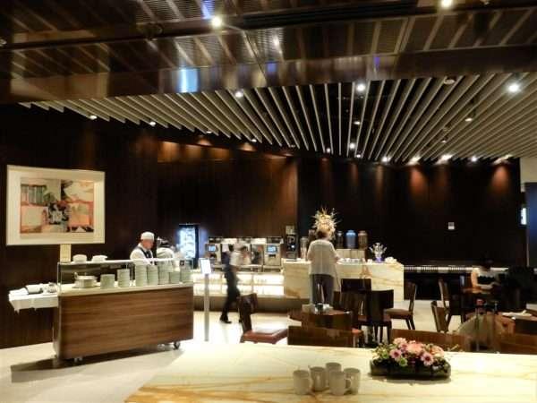 Singapore Airlines Changi Business Class Lounge Buffet
