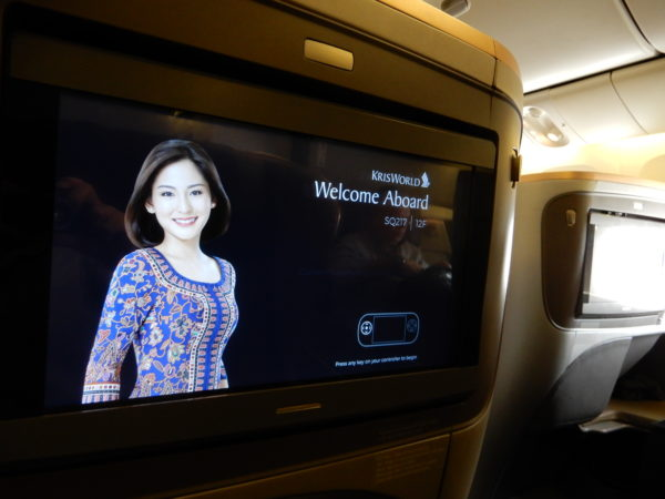 Singapore Airlines Welcome Aboard