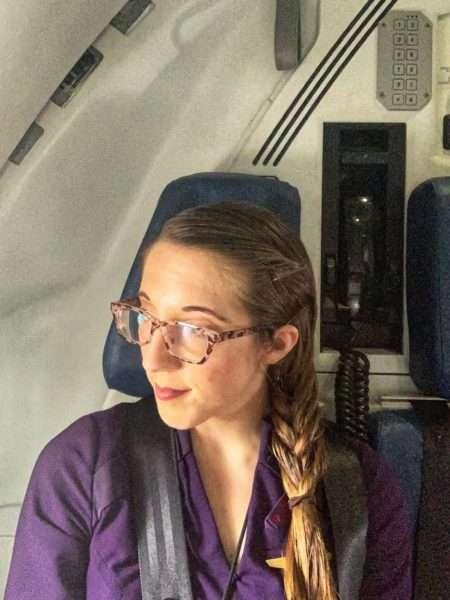 the hoppy flight attendant