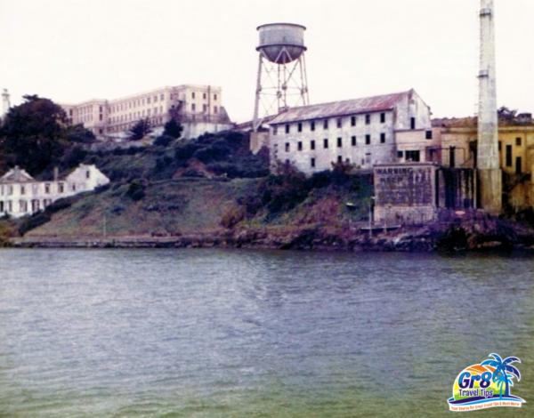 Alcatraz Prison Photo 1970's