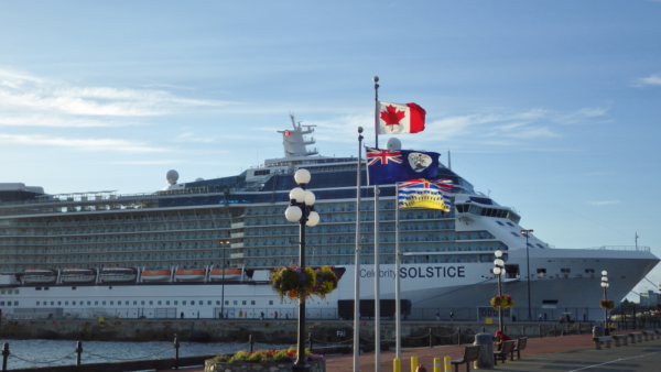 Celebrity Cruise Ship Victoria BC