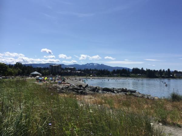Parksville BC City Beach Park