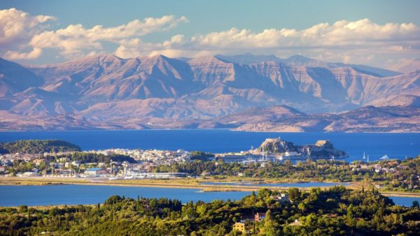 Corfu Island and Epirus Mountains
