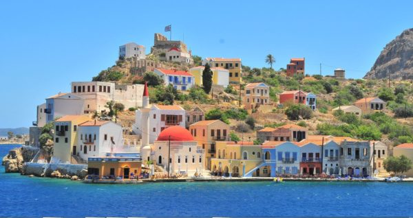 Port of Kastellorizo Greece