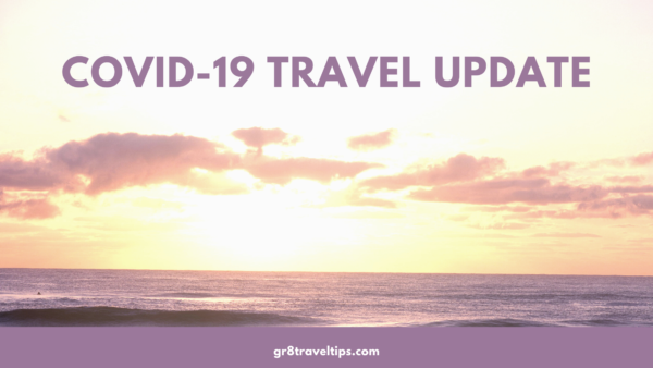 COVID-19 TRAVEL update