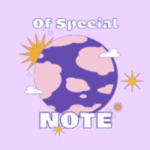 Of Special Note