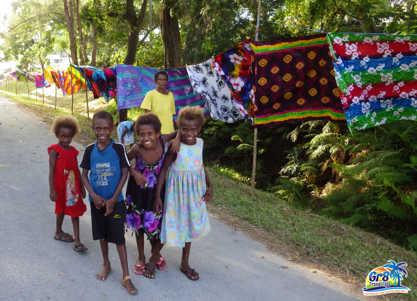 Luganville Vanuatu Children