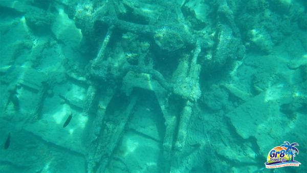 Million Dollar Point Underwater WWII Artifact