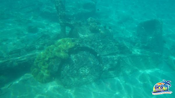 Million Dollar Point Underwater WWII Machinery
