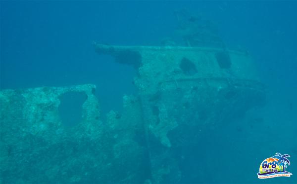 Million Dollar Point Underwater WWII Wreck