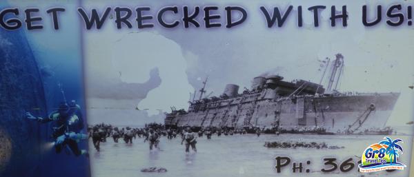Wreck Diving Million Dollar Point